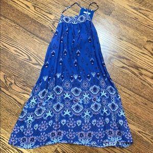 Bohemian blue dress!!